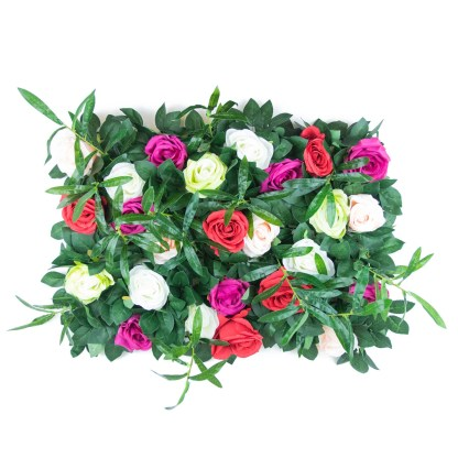 Mixed Rose and Greenery