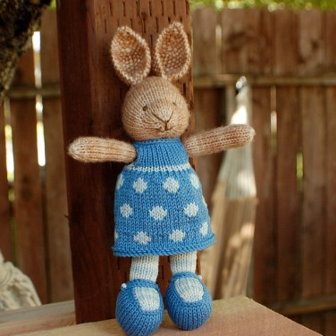 http://www.ravelry.com/patterns/library/bunny-girl-in-a-dotty-dress