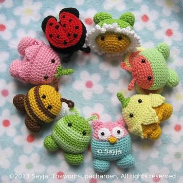 http://www.ravelry.com/patterns/library/garden-pals-amigurumi-crochet-pattern