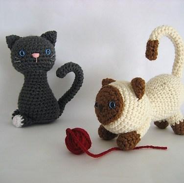 http://www.ravelry.com/patterns/library/kitten-amigurumi-crochet-pattern