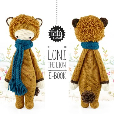 http://www.ravelry.com/patterns/library/loni---lalylala-crochet-pattern-n-v---lion