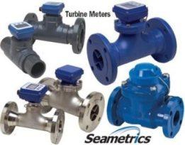Seametrics turbine flow meter