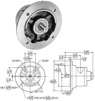 Gast Air Motor 4AM