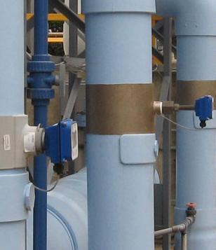 Insertion electromagnetic flow meter installation