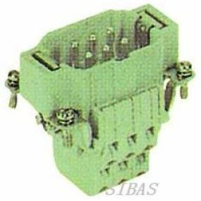 6-pin connector male plug (two-terminal)