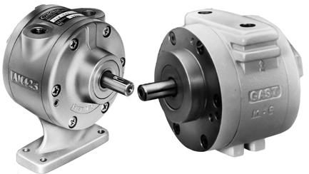 Air Gear Motor by Gast Manufacturing