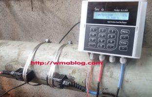 sitelab SL1168 water ultrasonic flow meter