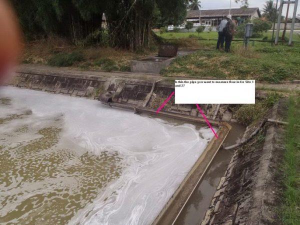 Flow Meter Untuk Air Limbah Pabrik Kelapa Sawit