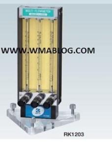 Kofloc Multiple Flow Meter with Needle Valve Model RK 120X