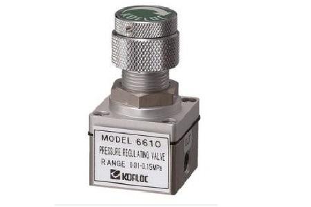 Kofloc 6610 Series Precision Pressure Regulator Valve