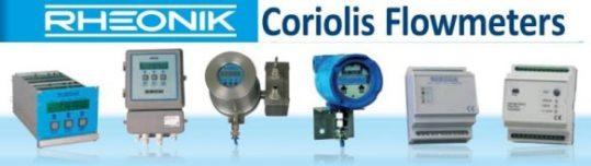 coriolis mass flow transmitter
