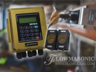 ultrasonic clamp on flow meter