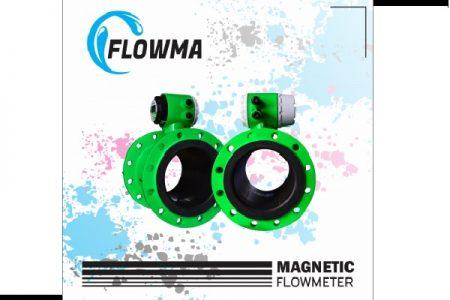 Flow Meter Air Limbah 3 inch Flowma WMAG 21