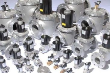 Elektrogas gas valve