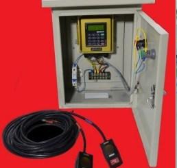 Flow meter ultrasonic clamp on