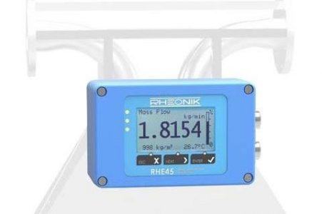 Rheonik RHE 45 Coriolis mass flow transmitter