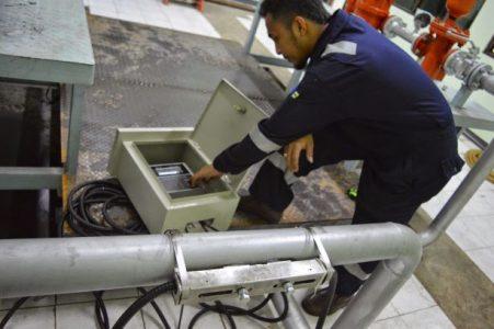 Flow Meter Ultrasonic Jenis Clamp On Untuk Pipa PVC