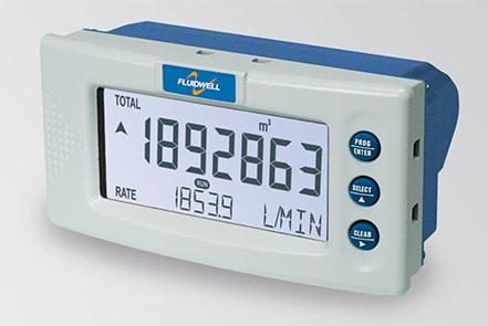 Fluidwell D012 DIN Panel Mount Totalizer