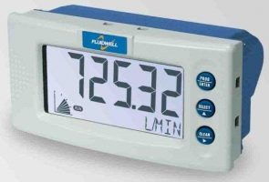 Fluidwell D016 DIN Panel mount Flow rate Indicator / Totalizer