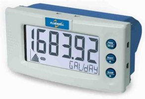 Fluidwell D014 Panel Mount Flow rate Indicator or Totalizer