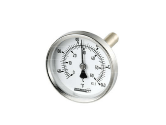 Bimetal Thermometer BT 63, 80, 100, 160 mm Hengesbach