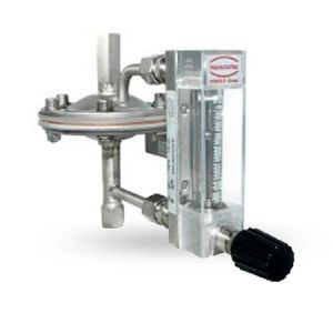 Model: K09-R Heinrich Low Volume-variable area-with glass tube