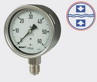 Spring-Capsule Manometer KC 63/100/160 Series Hengesbach