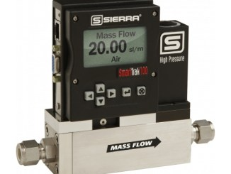 Sierra SmartTrak® 100 HP Ultra-High Pressure Digital Gas Mass Flow Meters