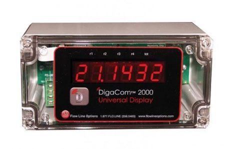 Flocorp DigaCom 2000 DCX2 Monitor Digital Process Meter