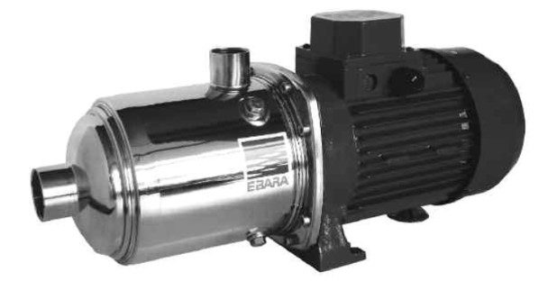 Paragon CP, CPS Horizontal Multistage Stainless Steel Pumps for Liquids