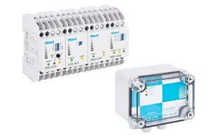 Dual channel supply unit DSU-2422-N(P), Dinel-Level and Flow Measurement