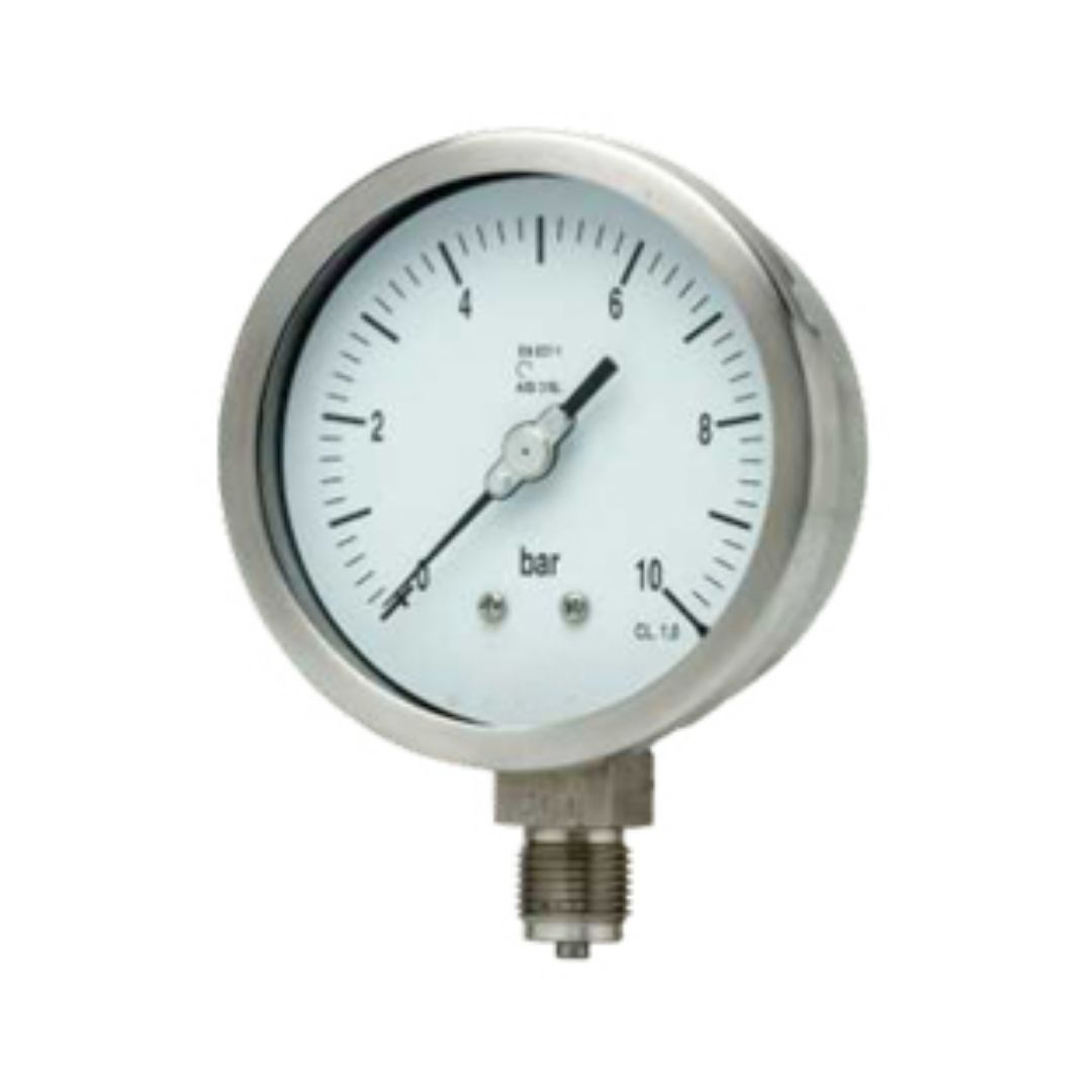 Bamo Bourdon Tube Pressure Gauge P101