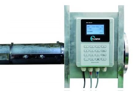 Flow meter clamp on Flowmasonic WUF series