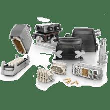 Heavy duty connectors, Weidmuller-Connector