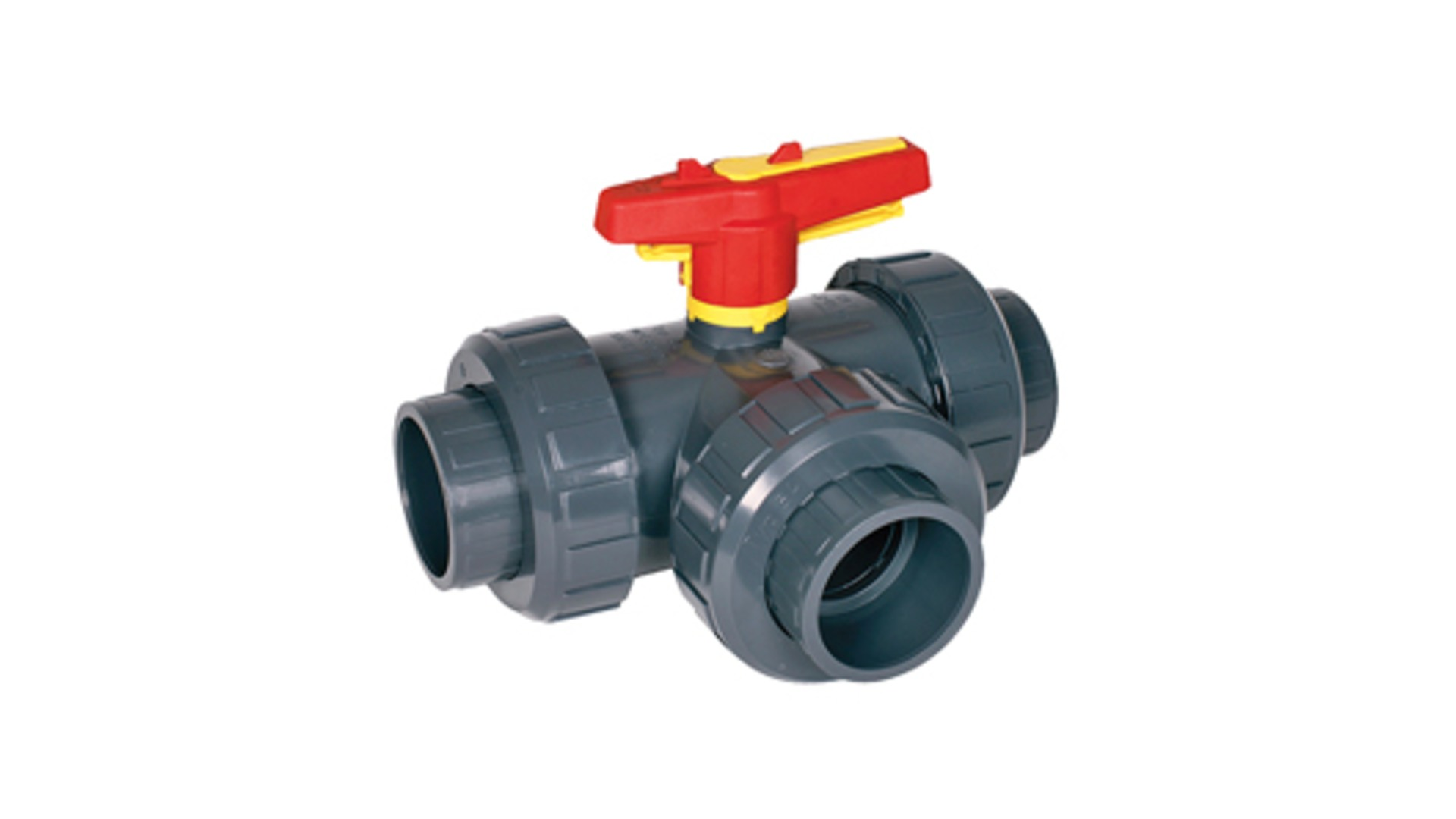 Bamo Manually Operated 3-Way Ball Valves, Industrial Series VM3V S4