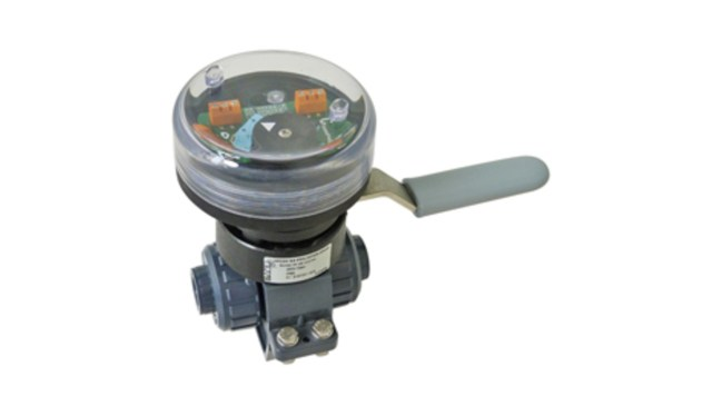 Manually Operated 2-Way Ball Valves and Limit Switches VM2V S4 FDC