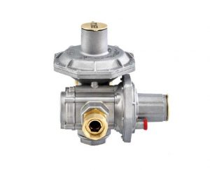 ERG-SR Double Stage Gas Pressure Regulator with OPSO