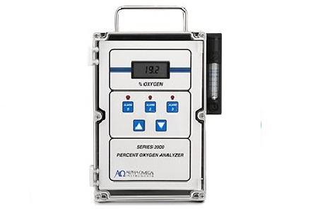 Alpha Omega Instruments Percent Oxygen Analyzer Series 2000