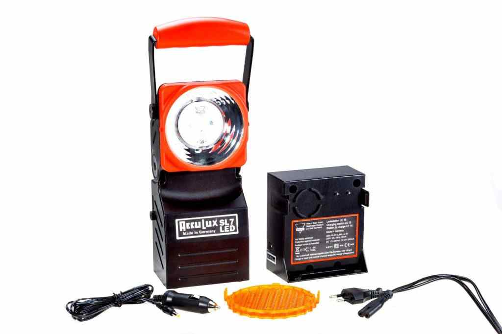 AccuLux SL 7 LED Set Explosion-proof Lamps for the Fire Department