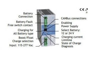 ADEL CB12245AJ Battery Charger