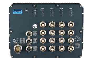 B+B SmartWorx EN50155 Railway Switches