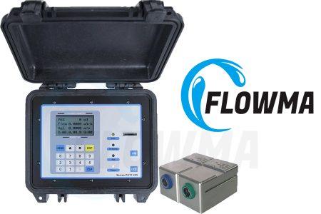 WUF 620 J Portable Ultrasonic Flow Meter  Flowma