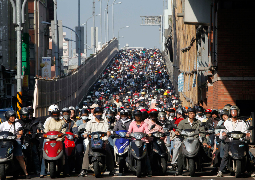 [The Big Picture] Dân số thế giới: Chỗ chật chội, nơi thưa thớt