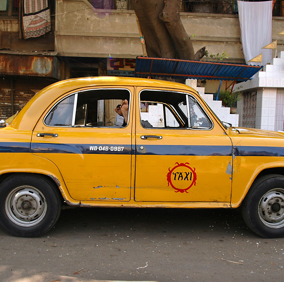 Taksówkarz z Indii