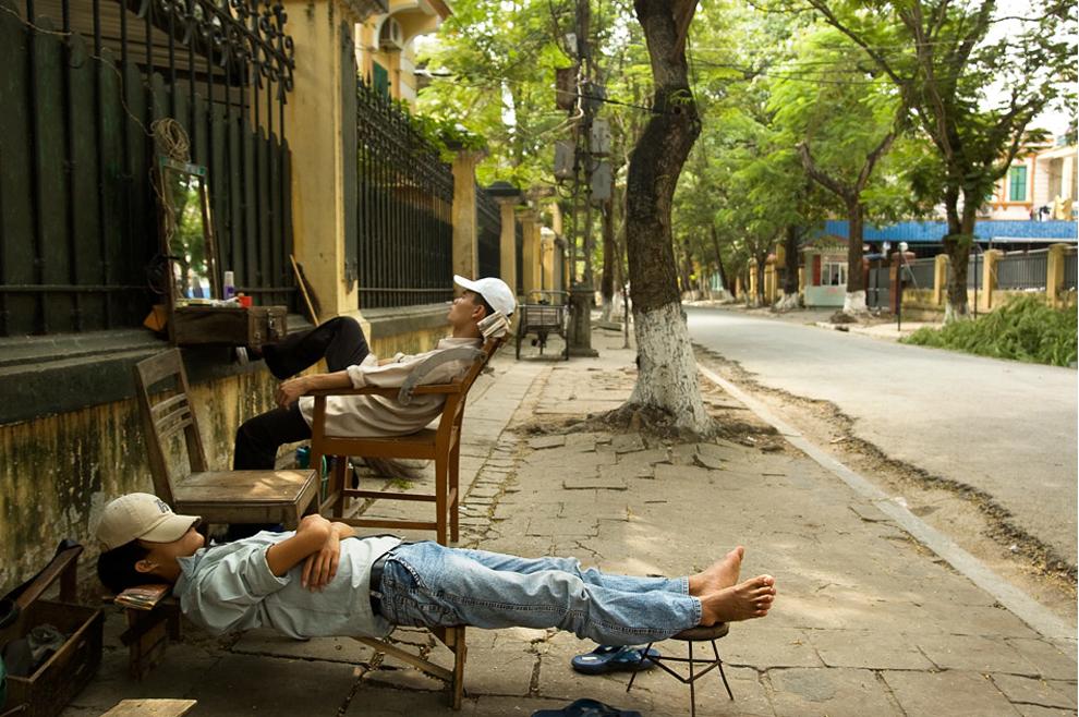 Uliczni fryzjerzy, ponownie z Wietnamu
