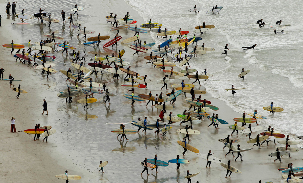 surf, south africa, world record