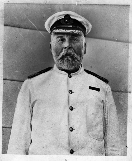 capitán del Titanic Edward Smith