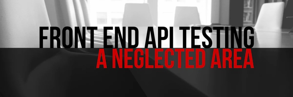 Front-End-API-Testing