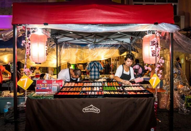 Dessert street food in Thailandia