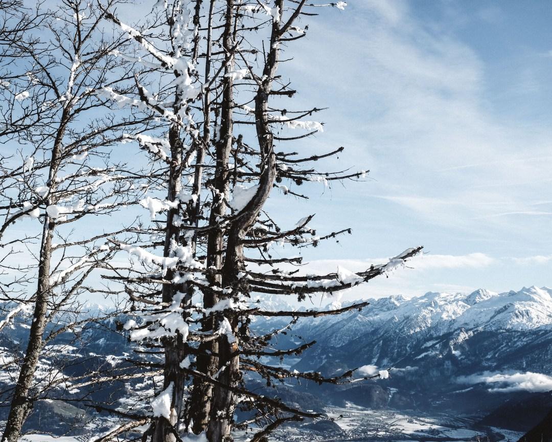 Winter Winterlandschaft Alpen Ausblick Ü50Mode fashionover50 inastil christmastime Weihnachtszeit BergpanoramaDSCF0975